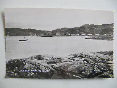 Lochinver from the South - Vintage Valentine's Real Photo Postcard