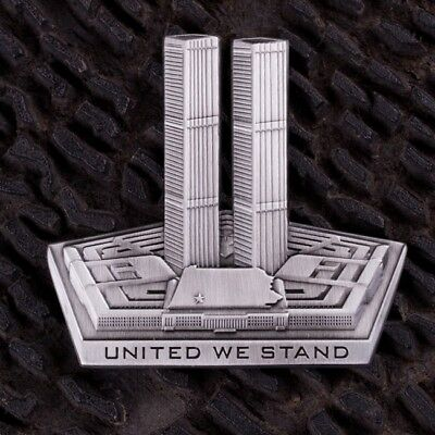 9/11 United We Stand Challenge Coin September Eleventh