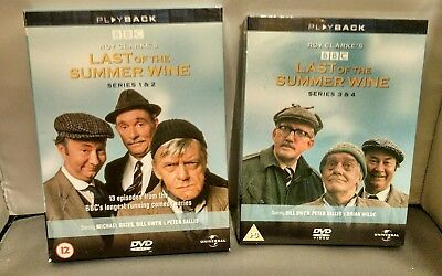 Last Of The Summer Wine - Series 1 & 2 & Series 3 & 4 Complete (DVD) Box Sets