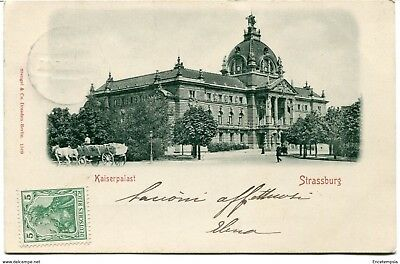 CPA - Carte postale-France -Strassburg - Kaiserpalast (CP672)
