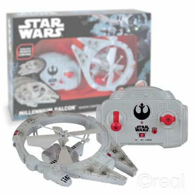 New Star Wars Remote Control Flying Millennium Falcon Drone RC Force Official