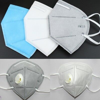 PM 2.5 Gas Protection Filter Medical Respirator Dust Mask Face Mouth Protector