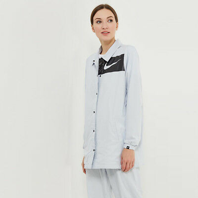 ba8f6f13bc Nike Wmns NSW Swoosh Jacket women NEW 893029-043 light grey black