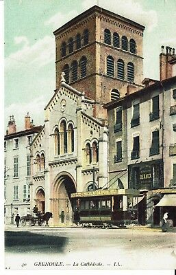 CPA - Carte postale -France- Grenoble - La Cathédrale (iv 148)