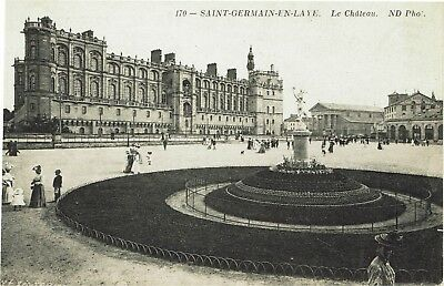 CPA - Carte postale -France- Saint Germain en Laye - son Château (iv 157)