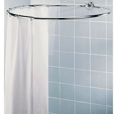 Circular Shower Rail Plated Shower Rail Is Light Yet Sturdy A Chrome Plated NEW