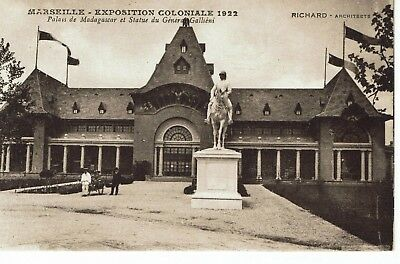 CPA - Carte postale -France-  Marseille - Exposition coloniale 1922 (iv 222)