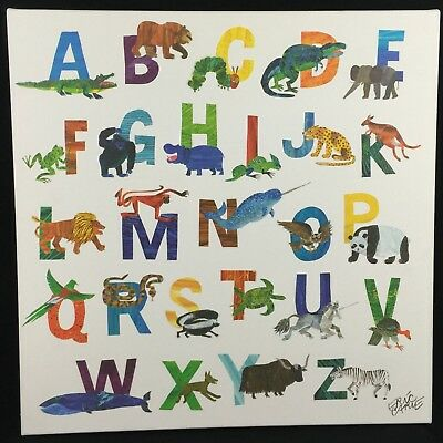 Oopsy Daisy Too World of Eric Carle Canvas Art 21 in X 21 in Fine Art for Kids