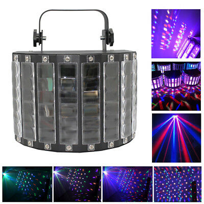 30W LED DMX512 RGBW Laser Stage Light Auto/Sound Control 9 Color DJ Disco Party