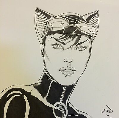 Original Art Bust Sketch Of Your Choice By ETHAN VAN SCIVER!