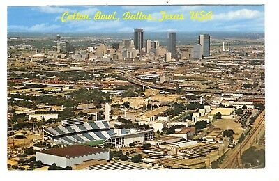 Cotton Bowl Dallas Texas Vintage Postcard Mar18