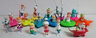 Jetsons Toy Lot PVC Figures and Fast Food Toys Wendy's