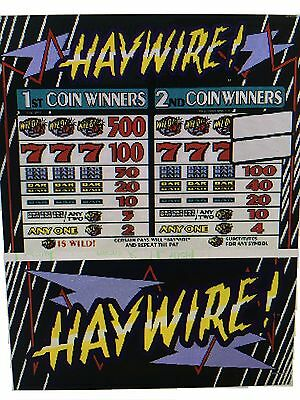 IGT S-Plus slot machine Haywire  2 coin 97 % payout Game & Reel chip set