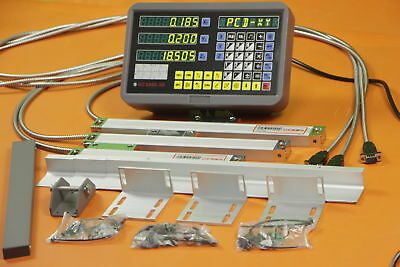 Precision 3 Axis digital readout with linear scale for milling lathe machine