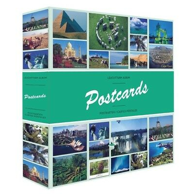 Large Postcards Album 600 Cards Capacity High Quality New Lighthouse Binder