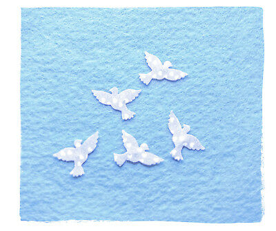 Forget me not seed paper doves plantable favours weddings funerals unique memory