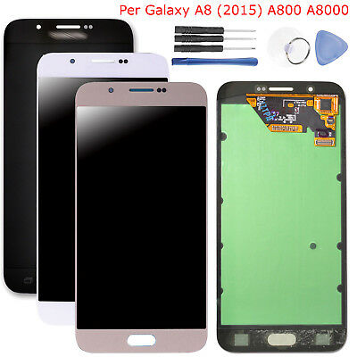 Display LCD Touch Screen digitalizzatore per Samsung Galaxy A8 (2015) A800 A8000