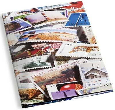 Stamp Collection A4 Album Stock Book 9 x 12 16 Black Pages Hard Cover Gift New
