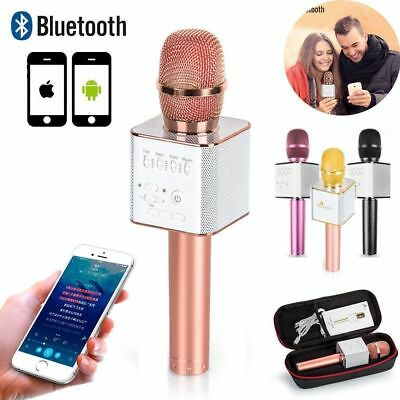 WS858 Wireless Bluetooth Handheld KTV Karaoke Microphone Speaker Mic USB Player