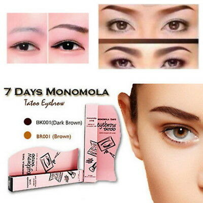 7 Days Waterproof Eye Brow Liner Eyebrow Liquid Tattoo Pen Pencil Long Lasting
