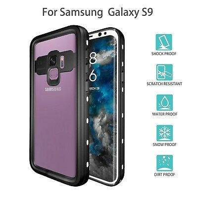 Redpepper IP68 Waterproof PC+TPU Armor Sealed Case Cover For Samsung Galaxy S9 +