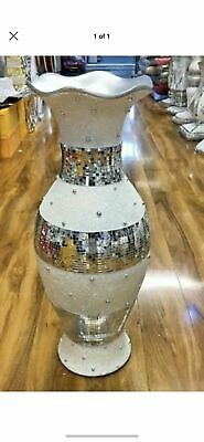 Large vase with beautiful Trophy Design decoration 60 cm tall Floor Sitter