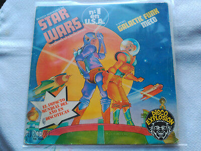 Single Meco - Music Inspired By Star Wars - Rca Spain 1977 Vg/vg+
