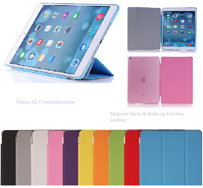 Smart Stand Magnetic New Leather Case Cover For APPLE iPad 5 /Air