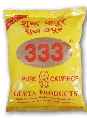 Geeta Products Pure Camphor/ Kapur Tablets (25gms x 1packet)