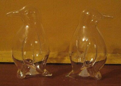 Waddle You Waiting For? Amazing Crystal Penguin Salt/Pepper Shakers•New