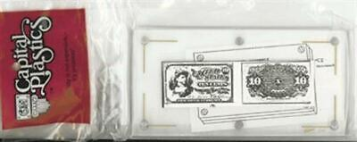 Currency Slab Protector Display Plastic - Fractional US / Small Banknote Capital
