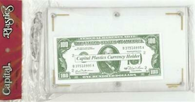Capital Holder Clear Banknote Plastic Holder Protector Slab Modern Size Currency