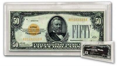 Banknote Snaplock UNC Currency Protector BCW Holder Large US Size 1 New Slab