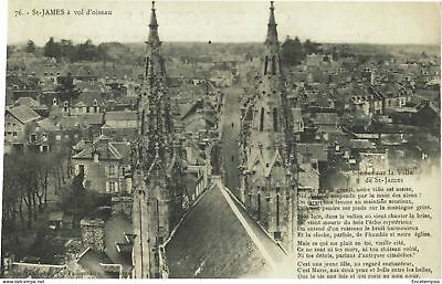 CPA - Carte postale - France - SAINT-JAMES - Eglise Saint Jacques (CPV115)