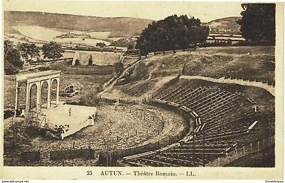 CPA - Carte postale - France -AUTUN -- Théatre Romain (CPV124)