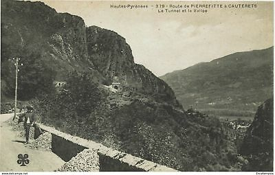 CPA - Carte postale - France -CAUTERETS - Route de Pierrefitte (CPV125)