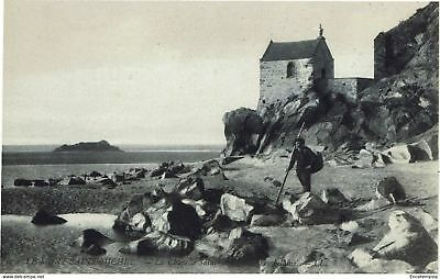 CPA - Carte postale - France - Mont Saint Michel - La chapelle Saint Aubert