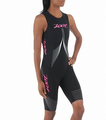Zoot Womens Ultra Speedzoot 2.0 Tri Suit Black Sports Swimming Lightweight