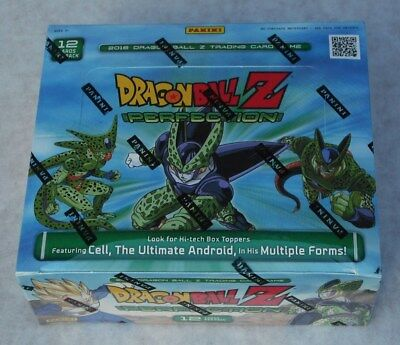Panini Dragonball Z Perfection 24 Pack Booster Box New & Sealed