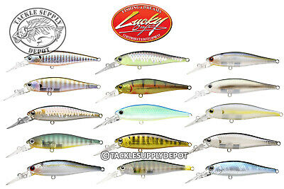 Lucky Craft Pointer 65DD-SP Jerkbait Deep Diving Suspending 2.5in 3/16oz - Pick
