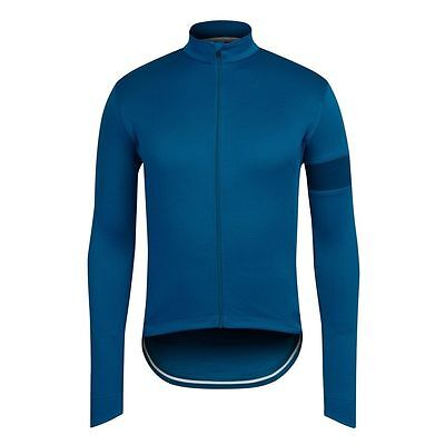 Rapha Blue Long sleeve Jersey top. Size XS. NEW
