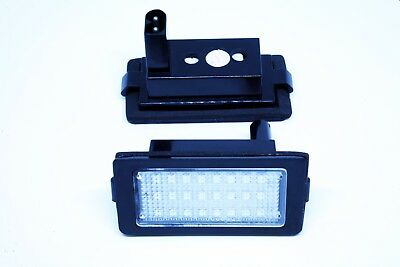 2x LED LICENSE NUMBER PLATE LIGHT BMW E38 CANBUS