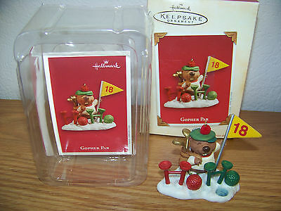 "Hallmark Keepsake Ornament - 2003 -  ""GOPHER PAR""  - FREE SHIPPING!"
