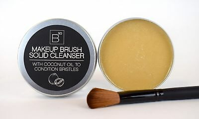 BSQ Make Up Brush Cleaner Solid Soap Cosmetic brushes Cleanser Coconut Oil 100g