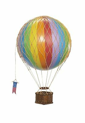 Authentic Models Travels Light Hot Air Balloon Model Multicolored