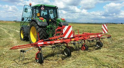 Enorossi G4 17' Pull Type Hay Tedder - Ships Free to Texas & Surrounding States!