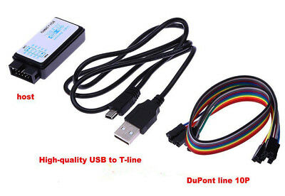 New USB Logic Analyzer Device Set USB Cable 24MHz 8CH 24MHz for ARM FPGA M100