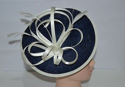 Elegant Headband Hat Fascinator Alice Band Wedding Royal Ascot Ladies Day