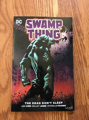 "Swamp Thing: ""the Dead Don't Sleep"" Tpb Graphic Novel Len Wein Dc Comics"