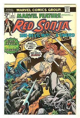 Marvel Feature 1   Red Sonja begins